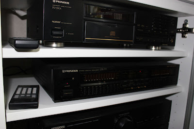 Pioneer GR-777 qualizer for sale, säljes Remote Control CU-GR001 and Pioneer PD-S501 CDplayer (Testwinner)