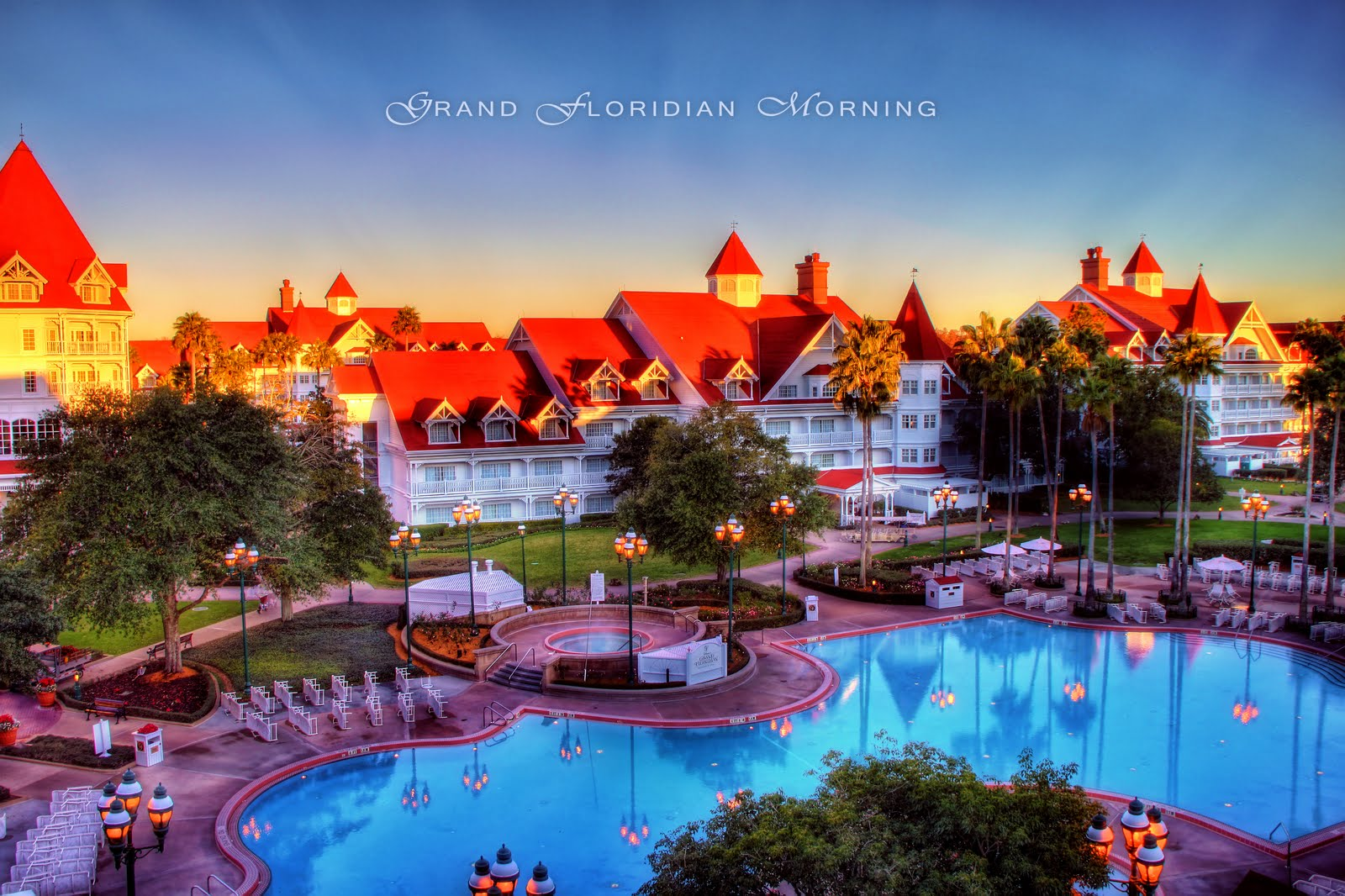hotel disney world: