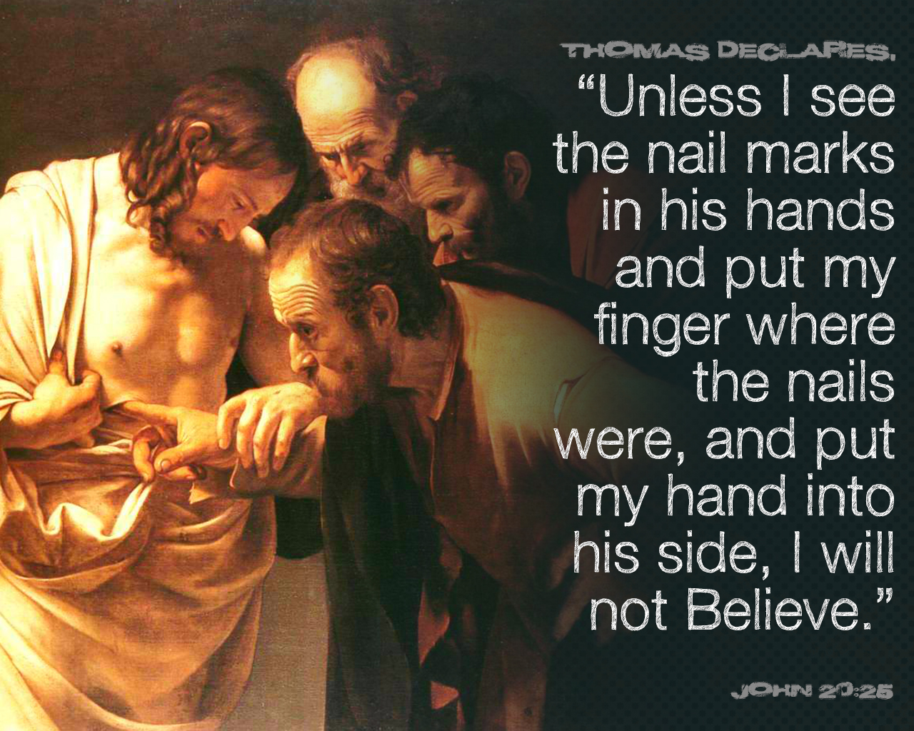 Quotes On Doubting Thomas Quotesgram