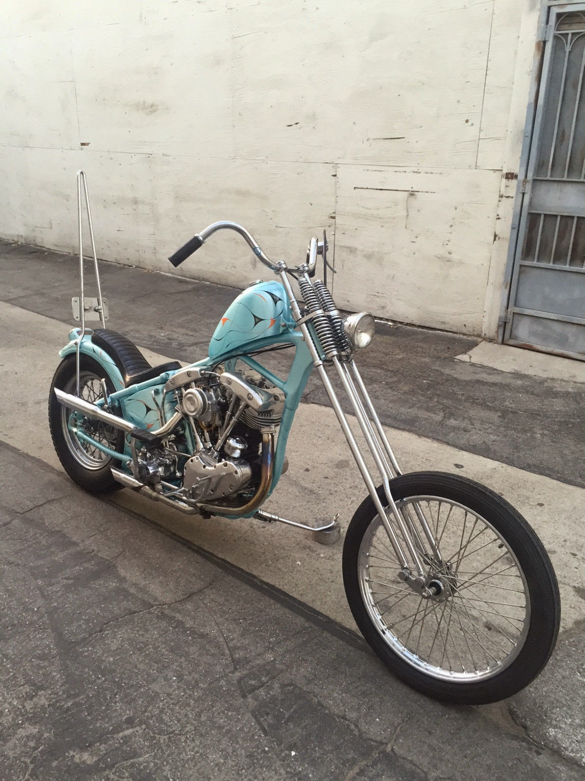 Shawn's Shovelhead Chopper is