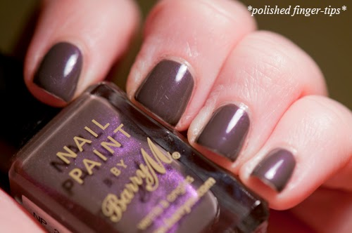 "Barry M ""Dusky Mauve"" - artificial light"
