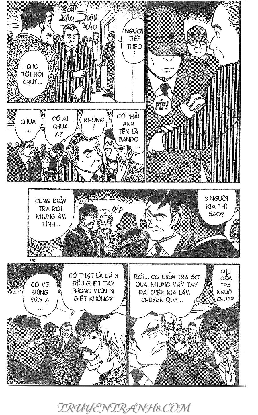 xem truyen moi - Conan Chap 294