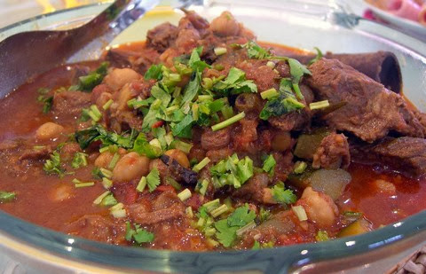 Spicy Moroccan lamb