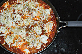 Easy Skillet Lasagna from Hezzi-D's Books and Cooks