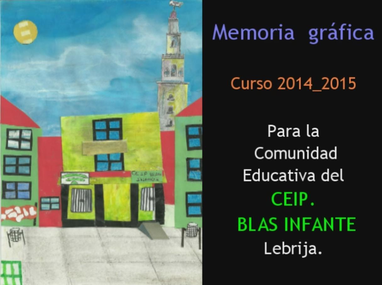 Memoria gráfica. Curso 2014_2015