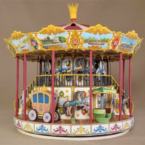 how to build a merry go round out of wood