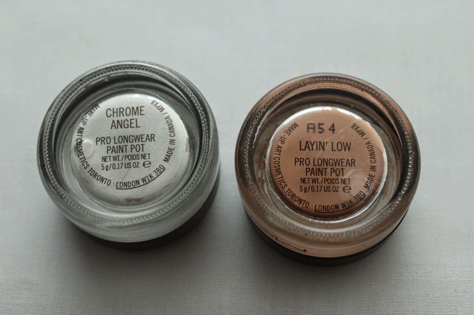 review mac paint pots makeup and
