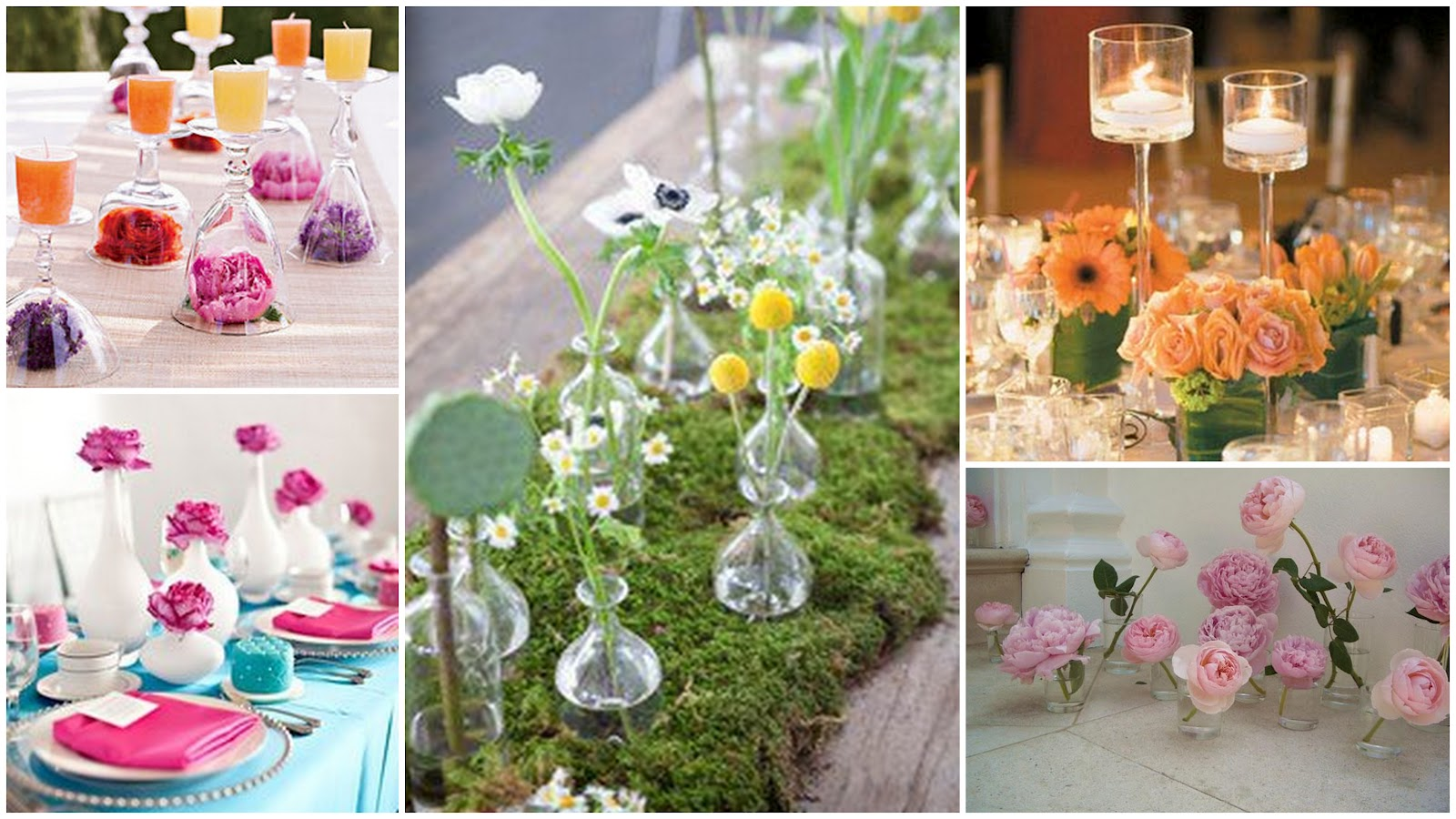 Crowning Celebrations: Crowning Inspiration: Simple Chic Centerpieces