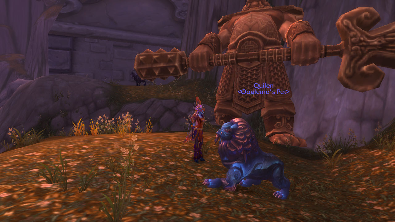 Admiring azeroth i 39 ve finally got a hunter pet from for Portent wow pet