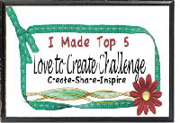 TOP 5. Love to Create.