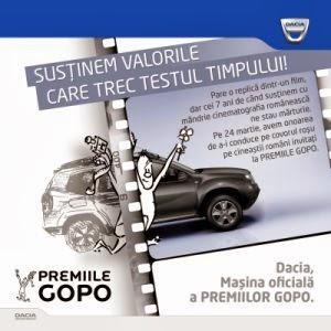 De sapte ani, Dacia descinde la Gopo