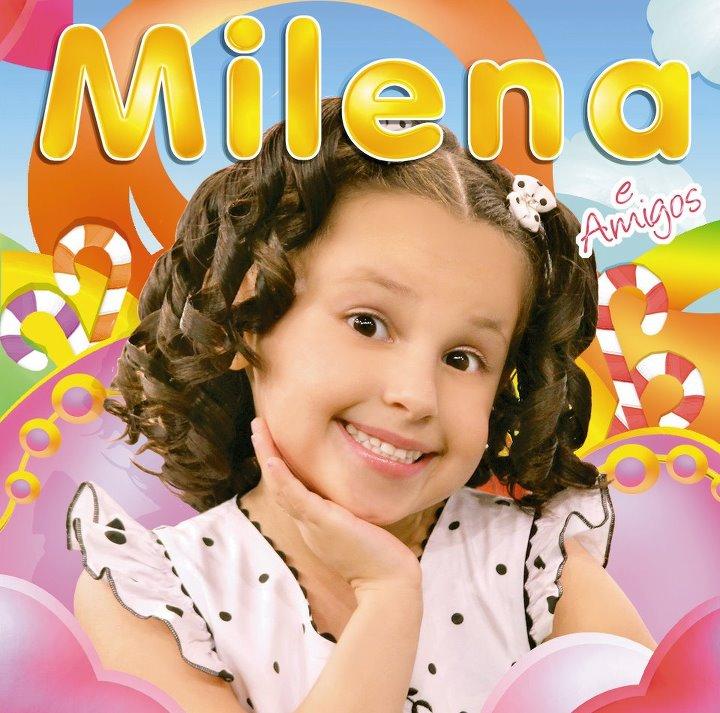 Capa Milena e Amigos (2012) | músicas