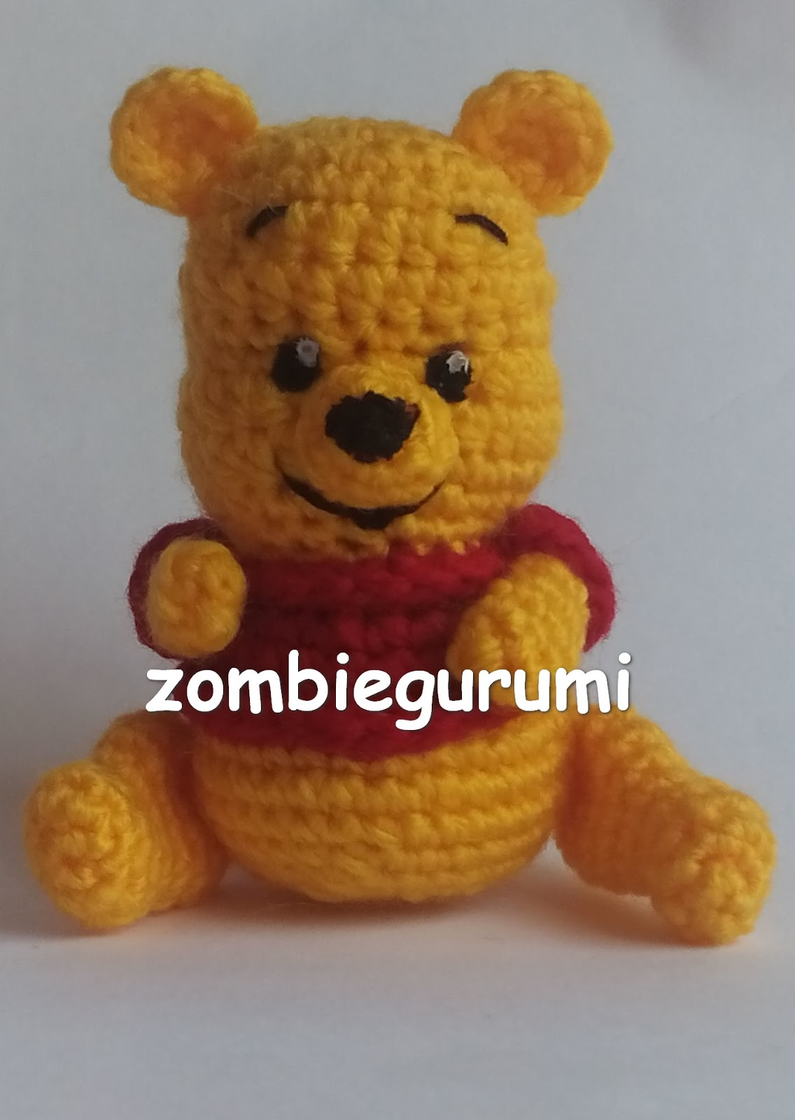 Amigurumis: Winnie Pooh amigurumi... PATRoN GRATIS
