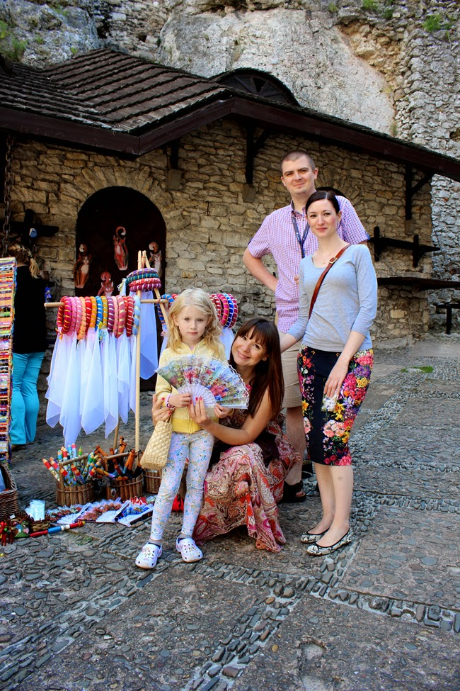 family time, family, poland, castle