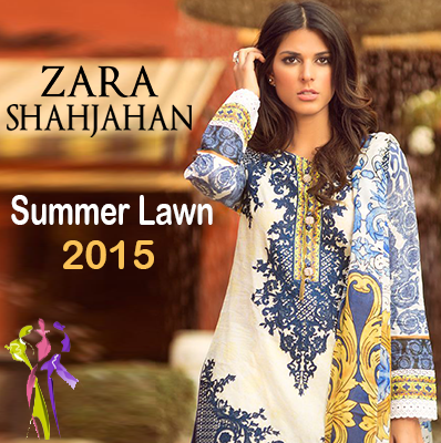 Kamal Summer Lawn Collection 2015 by Zara Shahjahan