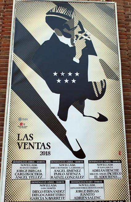 MADRID LAS VENTAS (ESPAÑA) NOVILLADAS. CON PICADORES.