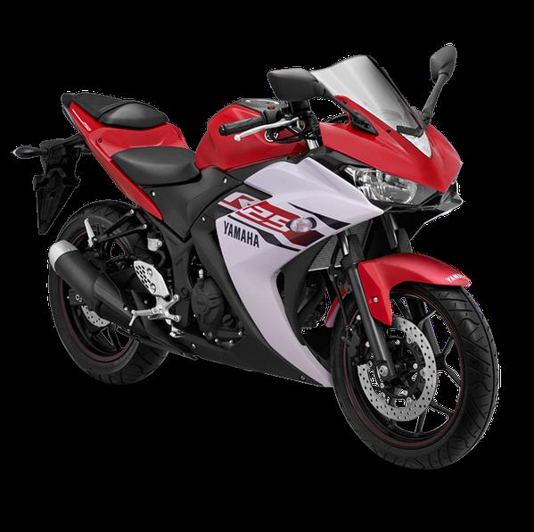 Yamaha R25 Warna Merah