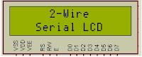 http://elecnote.blogspot.com/2015/11/2-wire-lcd-mikroc-library.html