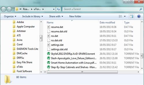 Cara Mengembalikan Settingan Default uTorrent 3