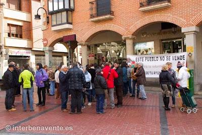 Benavente, este pueblo no se vende, contra la reforma local