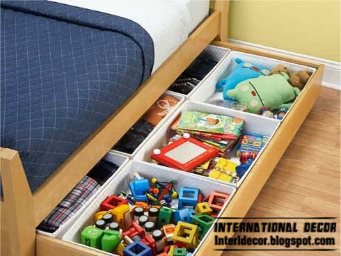 under bed storage drawer boxes, children storage furniture
