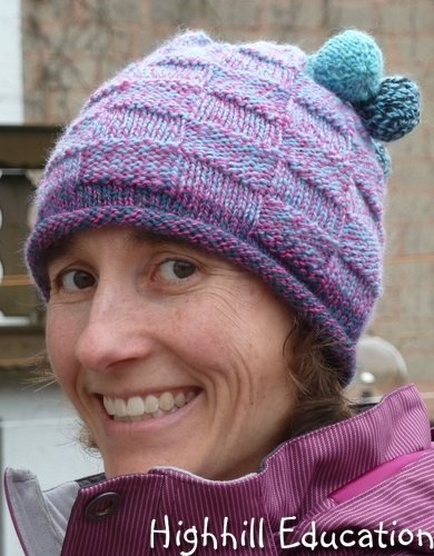 Knitting Patterns For Crazy Hats : Highhill Homeschool: Stonehedge Crazy Yarn - Knit Hats