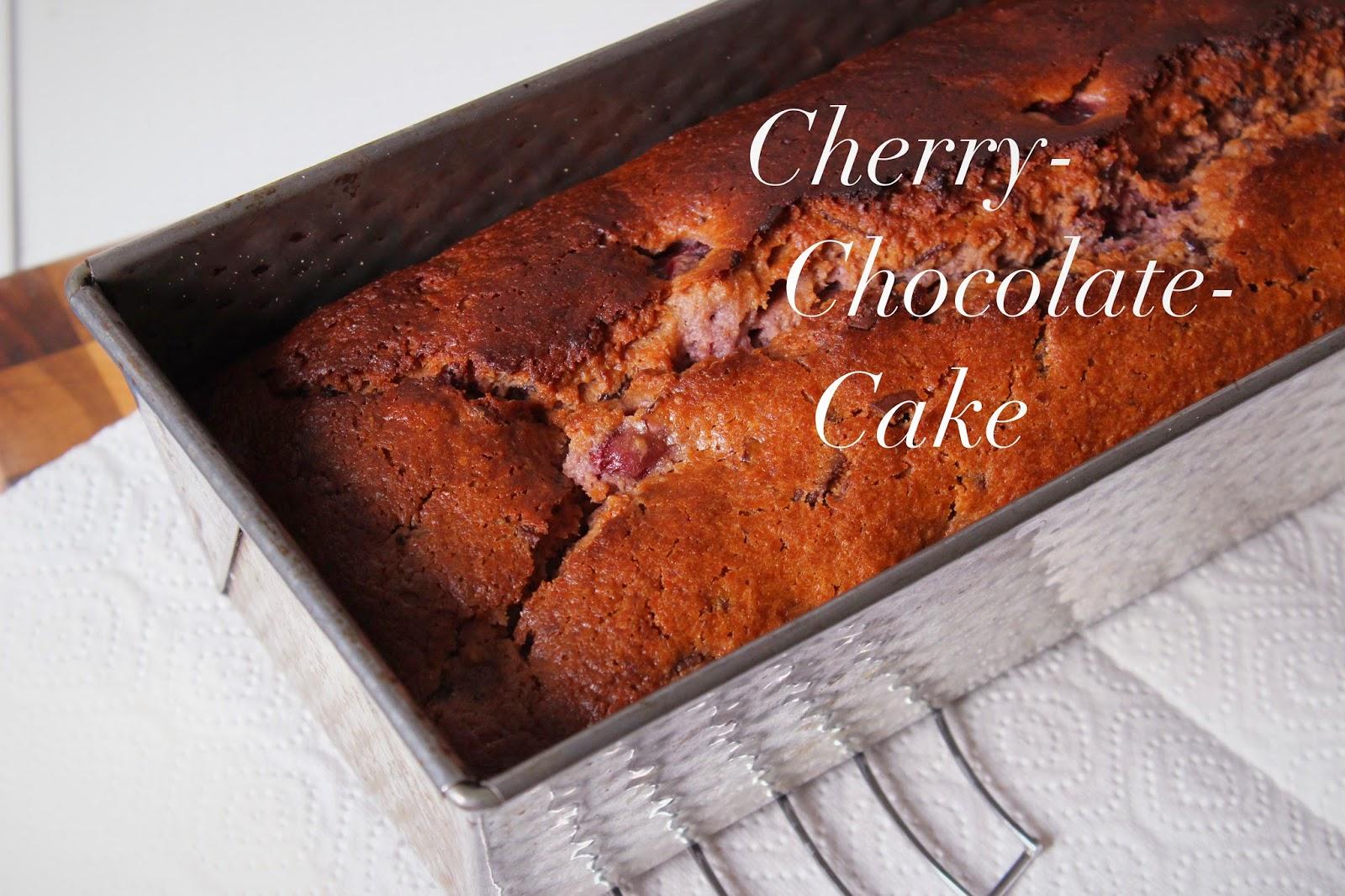 marylebow.: Vegan Cherry-Chocolate-Cake