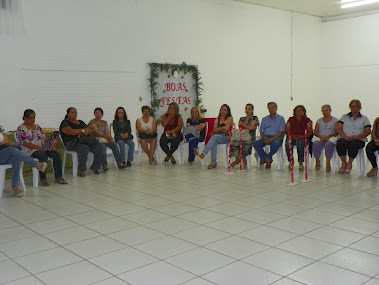 Encontro de final de ano com professores