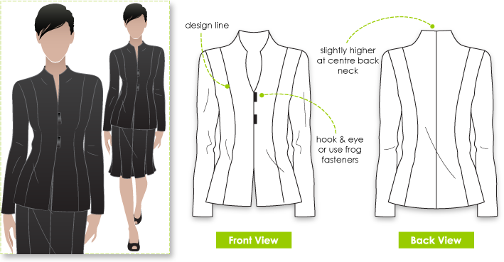 K-Line: Winter Sewing: The Janet Jacket