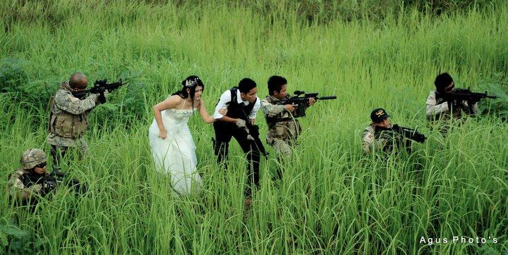 Konsep Foto Pre-Wedding Unik
