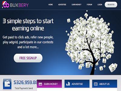 Los mejores referidos rentados se encuentran en BuxBery, gana dinero gratis