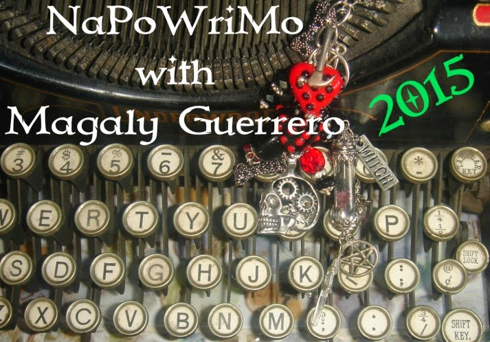 NaPoWriMo (with Ms Wicked) April 1-30