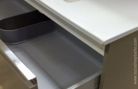 Mueble de ba o mab 120 de doble seno 2 lavabos - Tiradores para muebles de bano ...