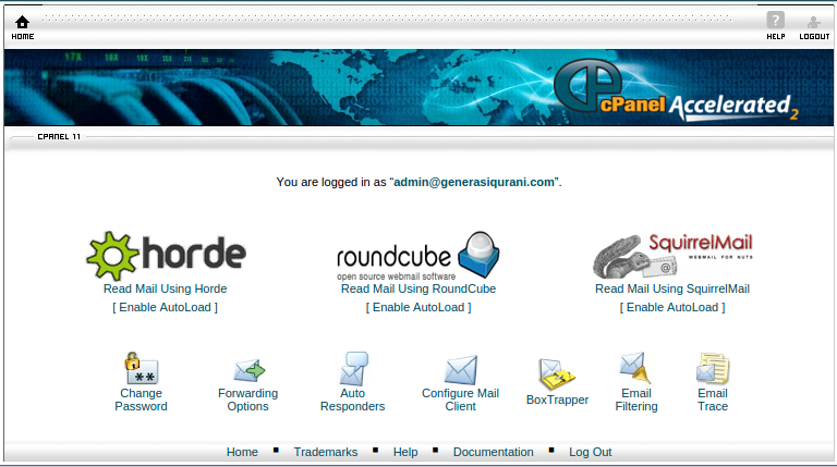 Software Email cPanel