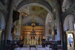 Celic Dere Monastery (Tulcea) - nave and iconostasis