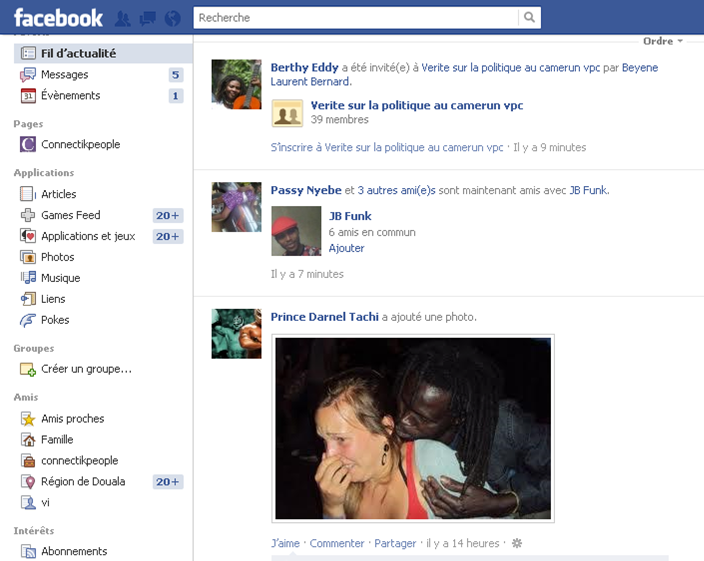 ... et Retrouvez une partie de vos amis disparus sur Facebook en 2012