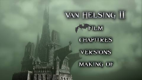 Van helsing 2 DVD menu