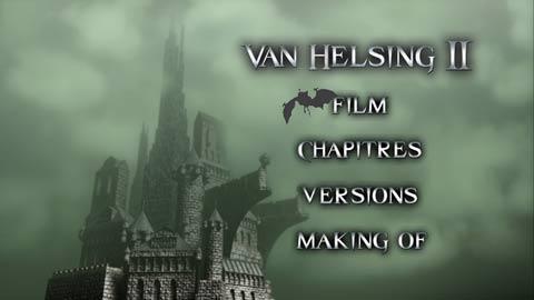Van helsing 2 DVD menu