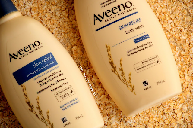 Aveeno skin relief body care range review