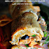 Grilled Chicken and Ham Sandwich with Creamy Sriracha