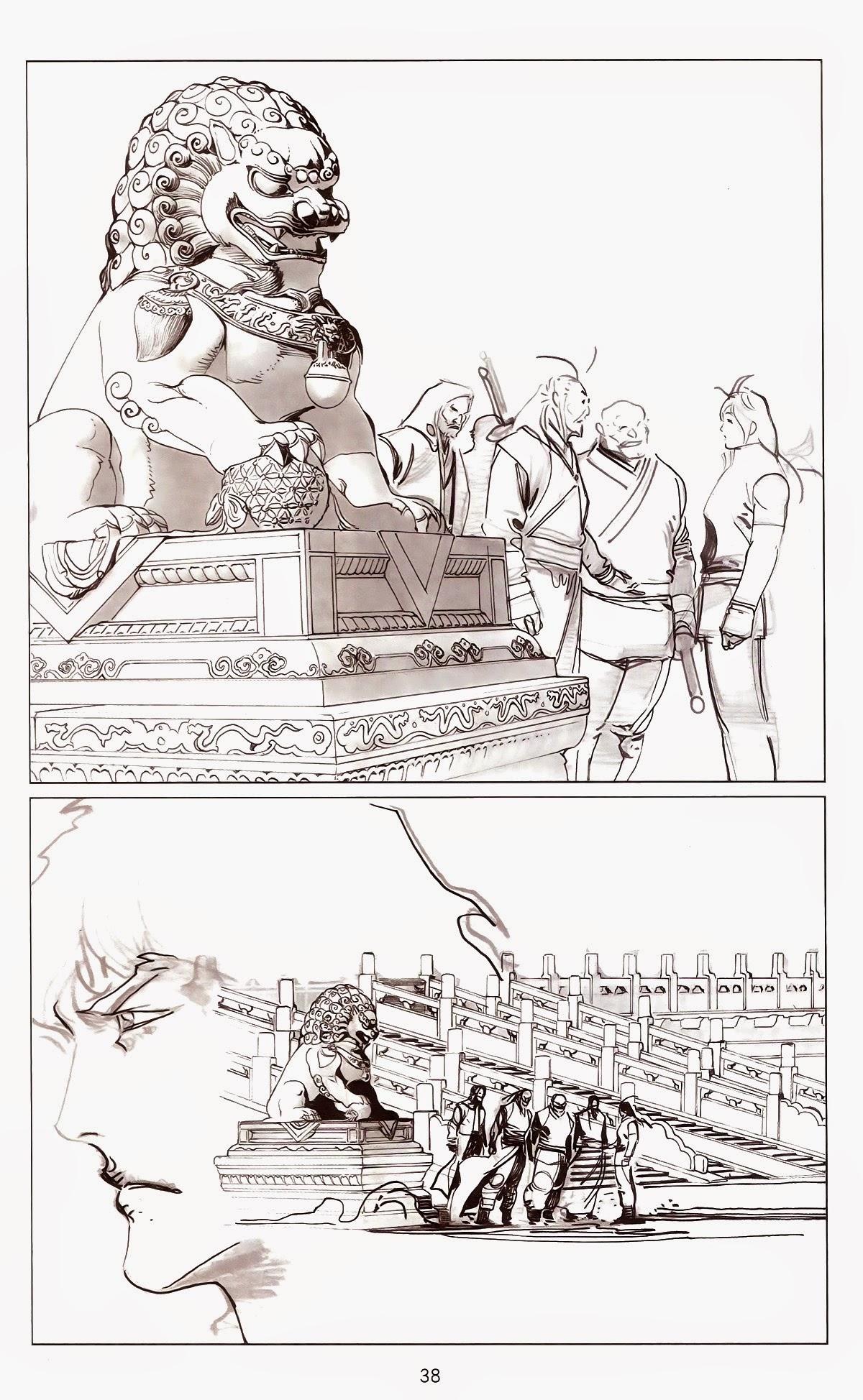 Phong Vân chap 675 Trang 36 - Mangak.info