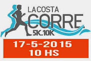 10k y 5k La Costa corre (Ciudad de la costa, 17/may/2015)