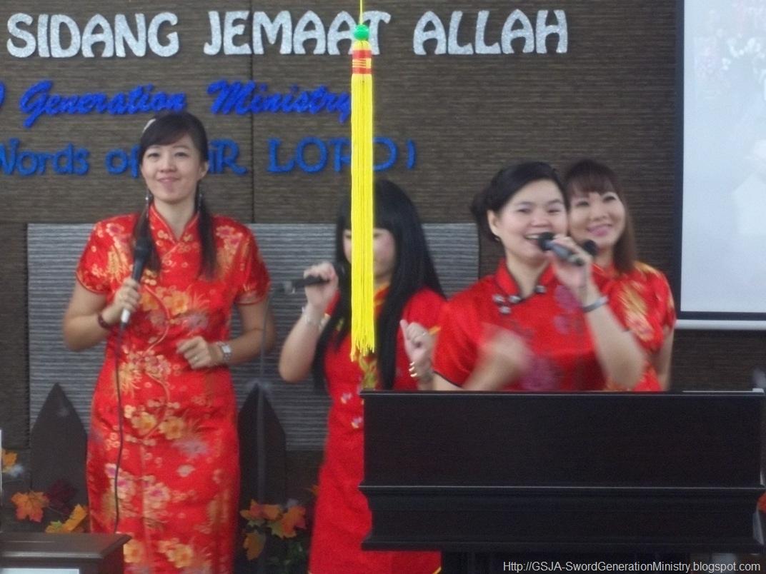 Perayaan Imlek Sword 22 Jan 2012