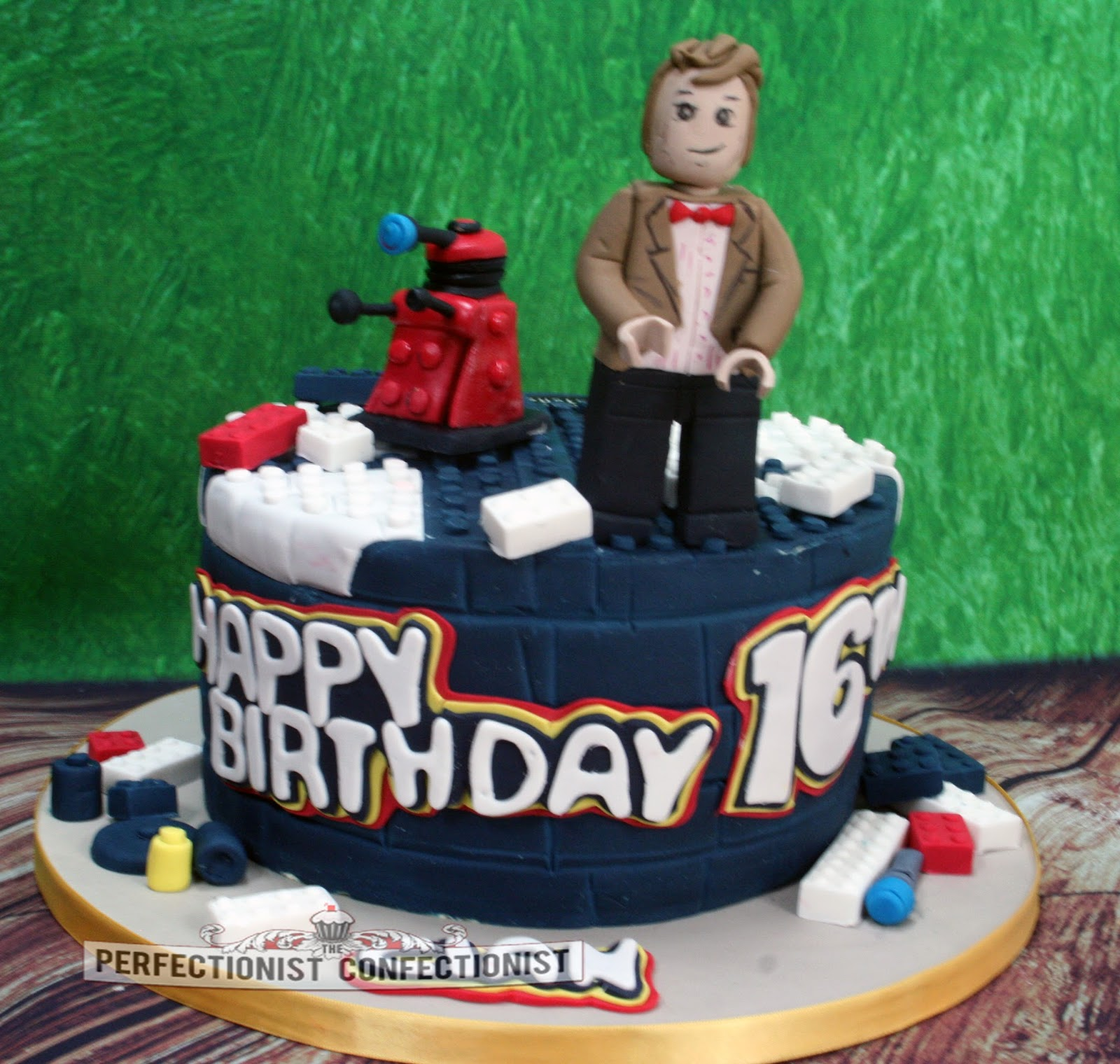 The Perfectionist Confectionist Cian Dr Who Lego Birthday Cake