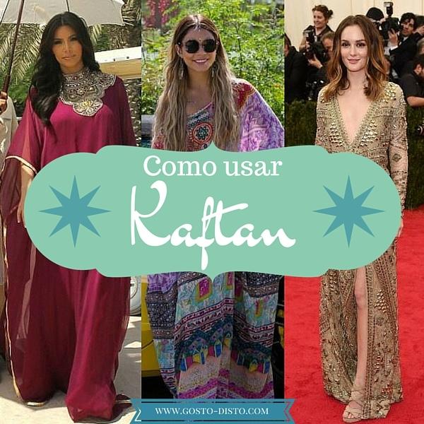 Como usar um kaftan como uma celebridade