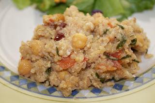 Crock Pot Quinoa Casserole