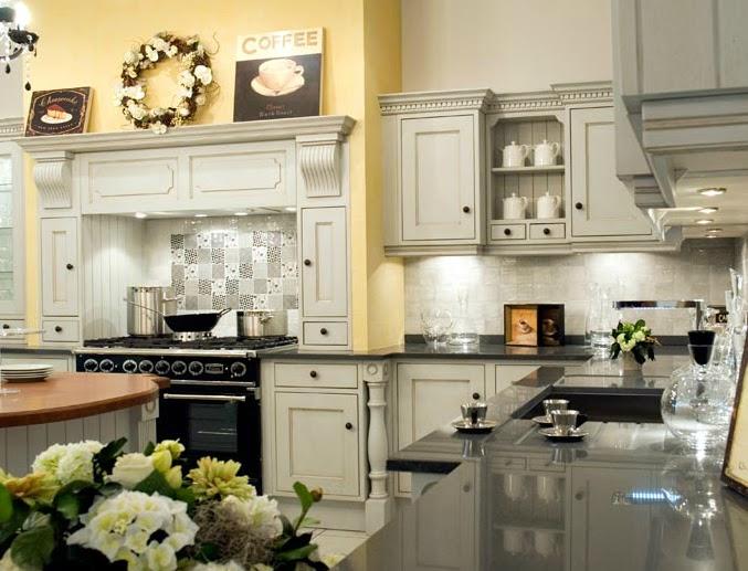 Cuisine laqu e ivoire meubles de cuisine - Adhesif decoratif pour meuble ...