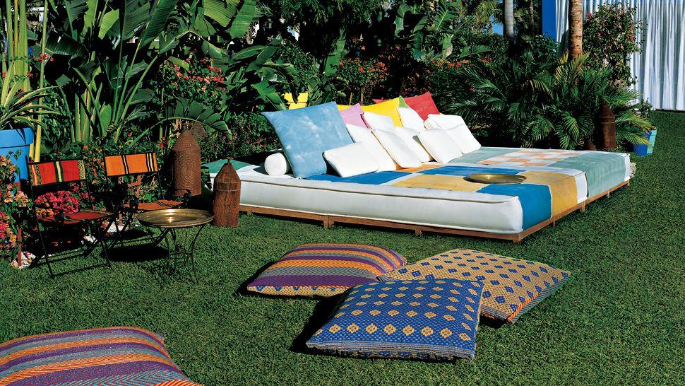 Decortherapia octubre 2012 for Camastros de hierro para jardin
