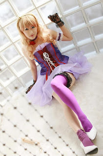 Macross Frontier Sheryl Nome Cosplay by Aira