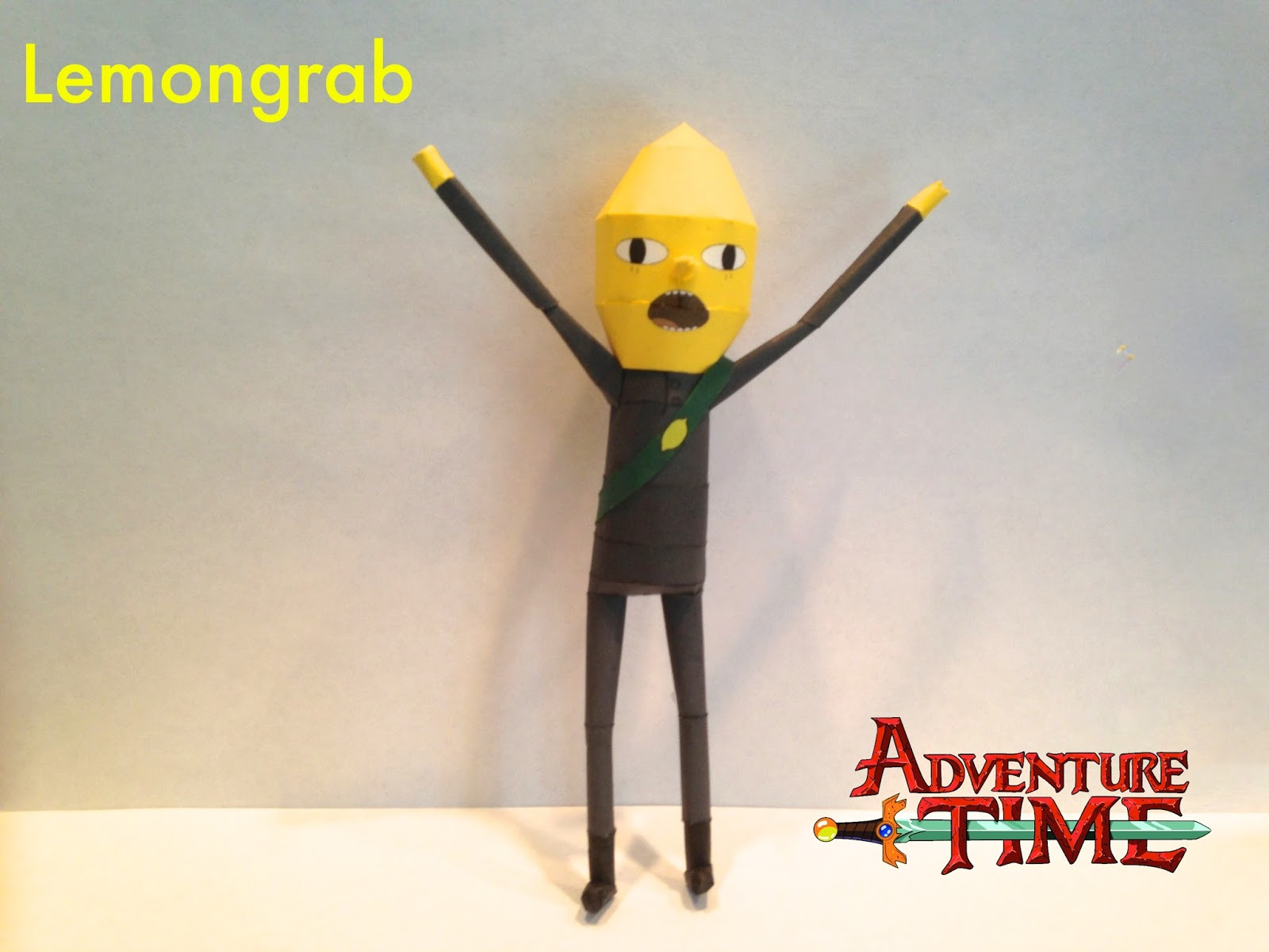 Earl of Lemongrab Papercraft